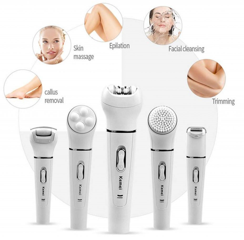 Shaver-F 5 in 1 Best Rated Epilator For Hair Removal