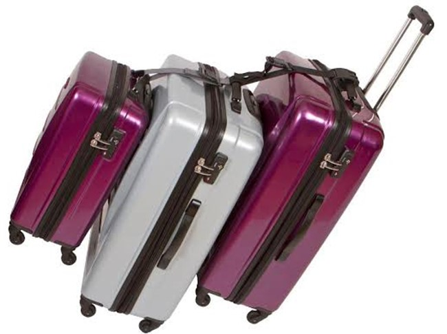 Multi-Bag Stacker Best Travel Accessories For Long Flights