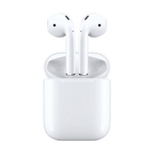 Apple Air Pods 2 with Wireless Charging Case White