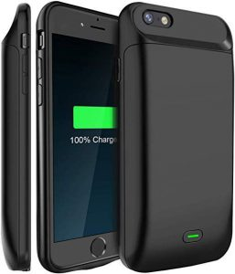 iPhone 8 Plus Cases that Charge iPhone - LoHi Ultra Slim Extended Battery Phone Cases that Charge iPhone