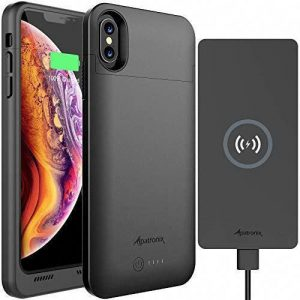Phone Case for iPhone 11 - Alpatronix Wireless Charging Battery Case