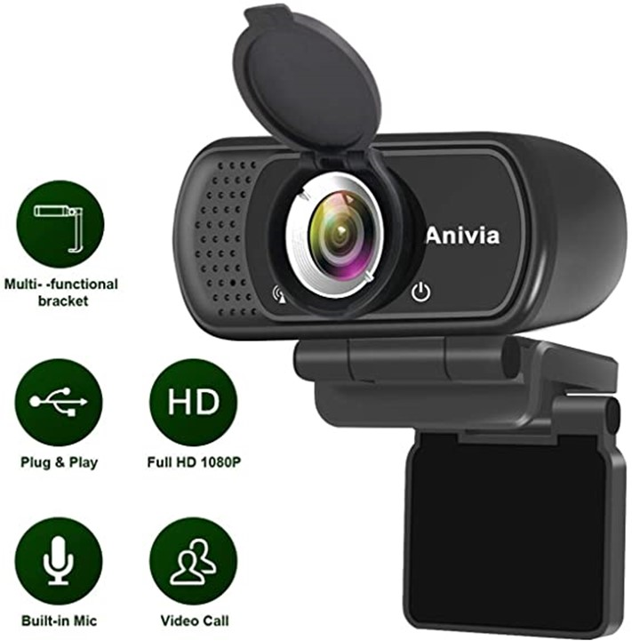ANIVIA 1080P HD webcam