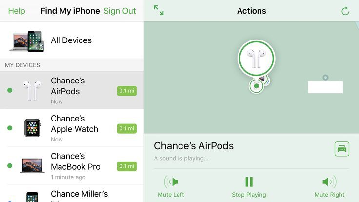 How to find and Find AirPods