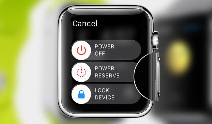 How to reset apple watches