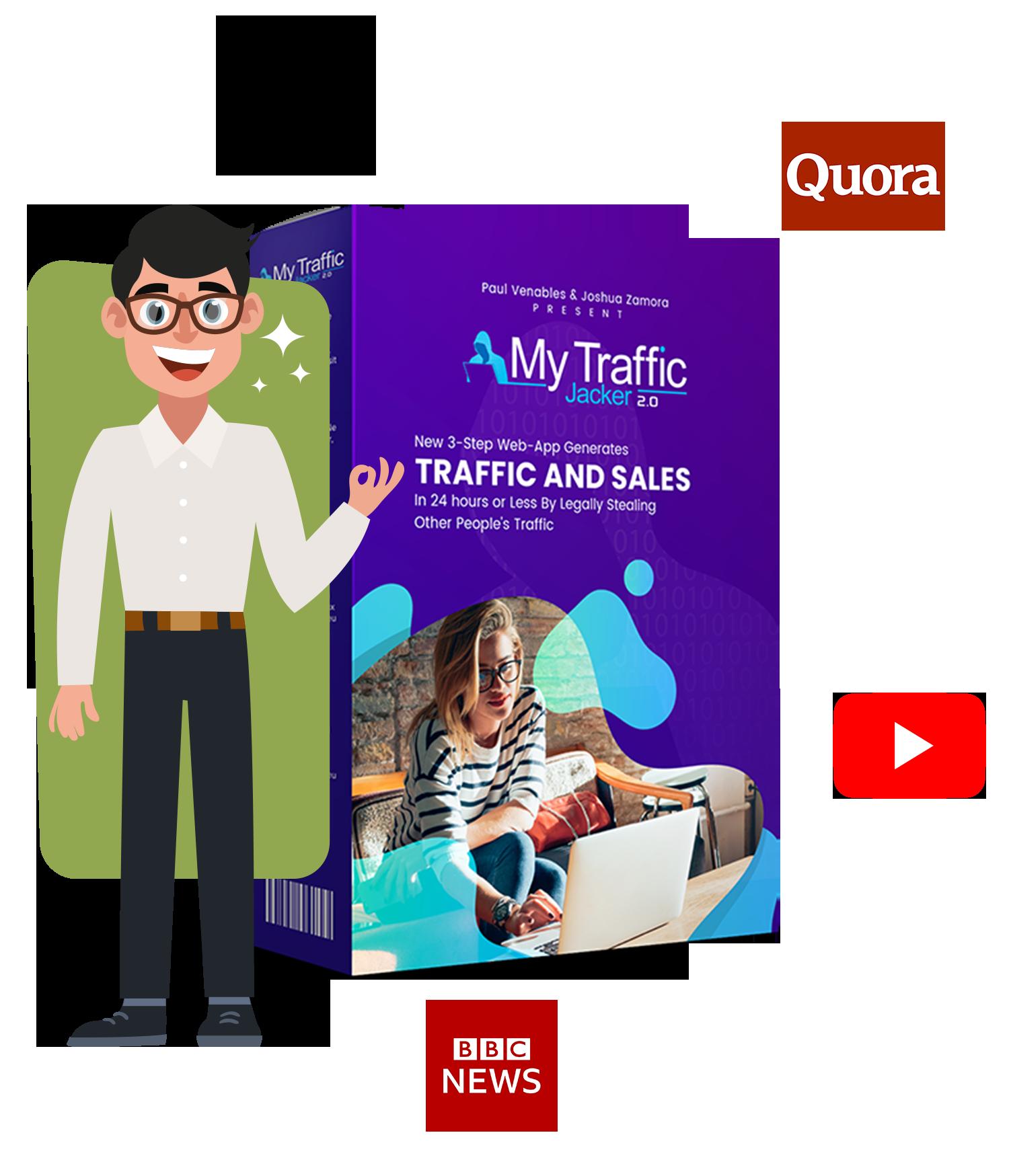 My Traffic Jacker 2.0 for youtube