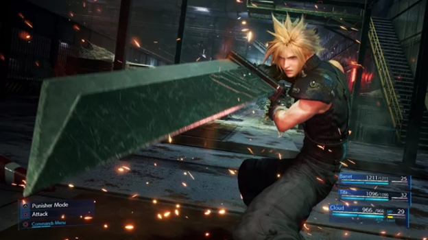 Final Fantasy Remake VII Sony Playstation 5 game
