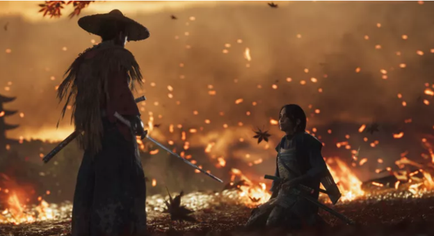 Ghost of Tsushima compatible with oncoming ps5