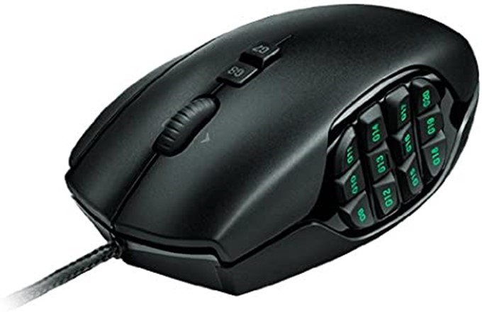 Logitech G600 MMO Mouse Review