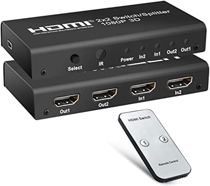 What Is An HDMI Switcher and HDMI Splitter