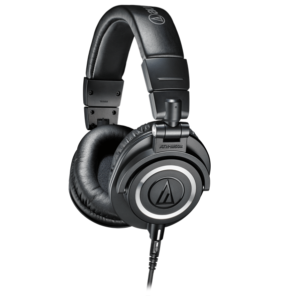 Audio-Technica ATH-M50x noise cancelling headphone
