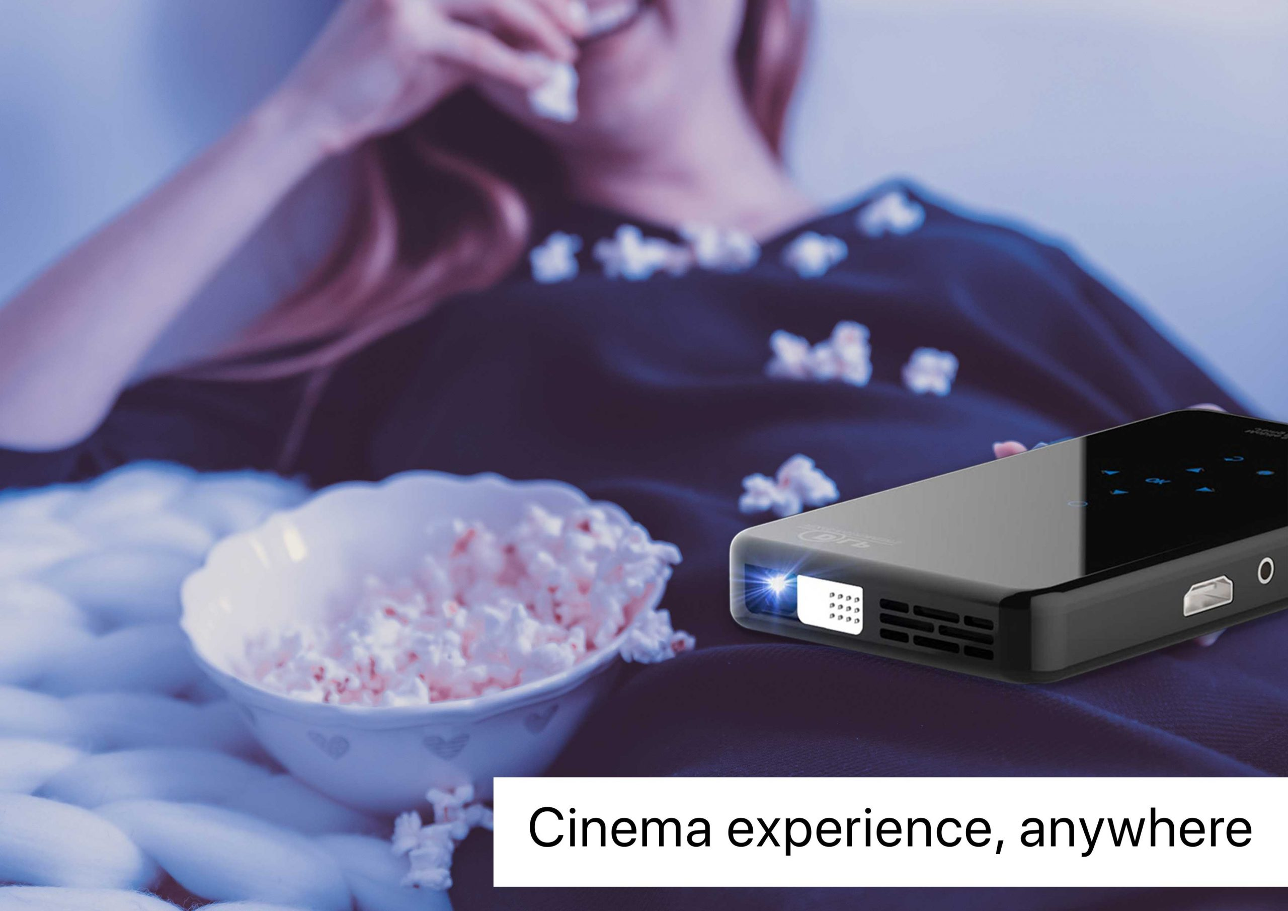 Big Screen Cinemawith prima projector