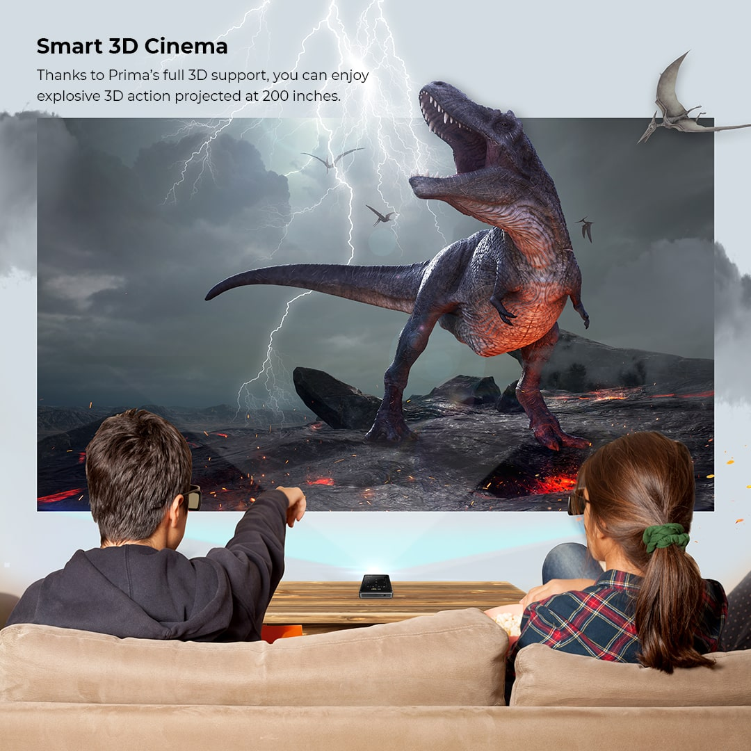 Prima Projector 3d Pictures Quality