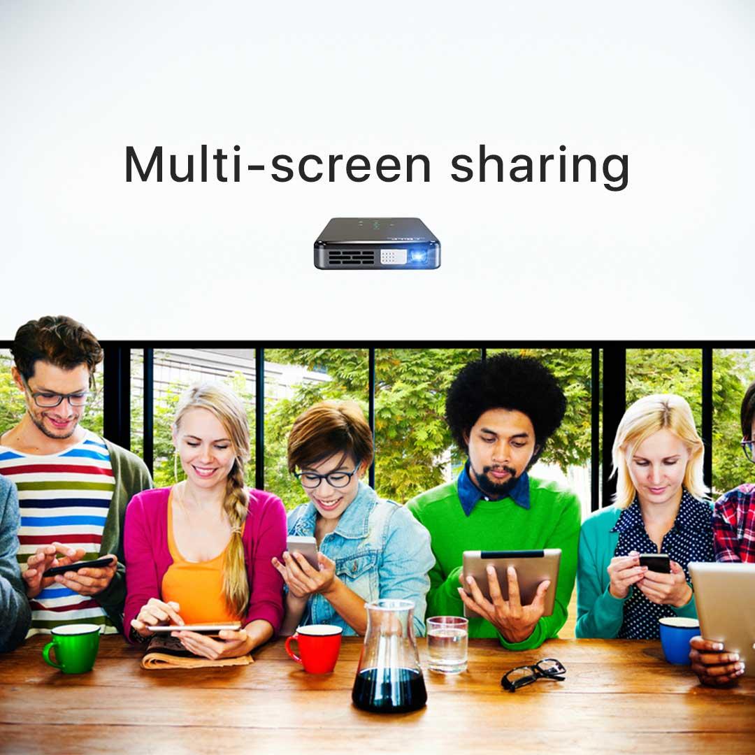 Prima projector multi screen sharing