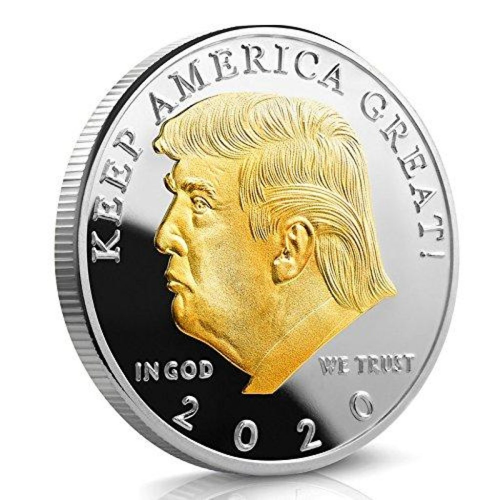 Trump 2020 Gold Plated Coin Giveaway products