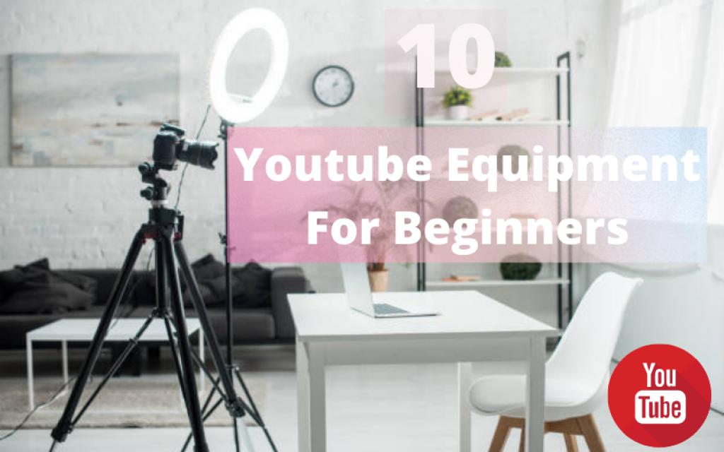 Youtube-Equipment-For-Beginners